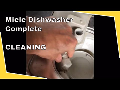 Miele Dishwasher -- Complete Cleaning
