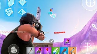 duo squad with 'not mobile tfue' / fortnite mobile *deagle + tac*