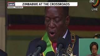 Emmerson Mnangagwa's moving tribute to Robert Mugabe