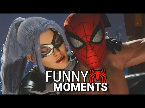 Spider-Man PS4 Funny Moments 2 CAR HEIST