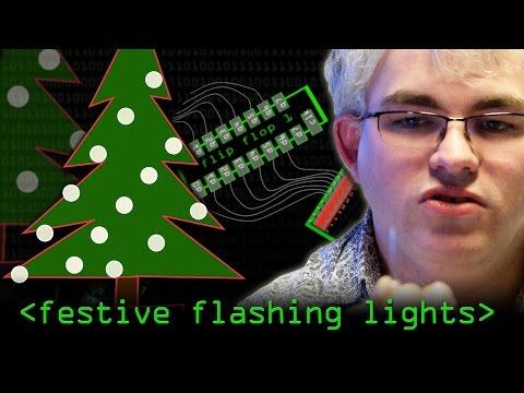 Festive Flashing Lights - Computerphile