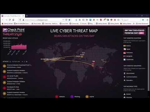 Live Cyber Threat Watch!