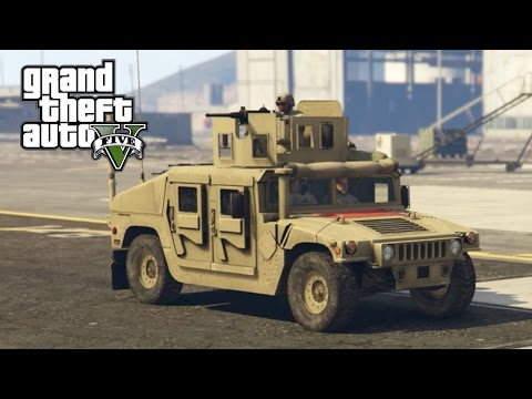 GTA 5 - LSPDFR Half Hour BIGGEST SHOOTOUT - Episode 35: Military Base Patrol - Thanksgiving Special!