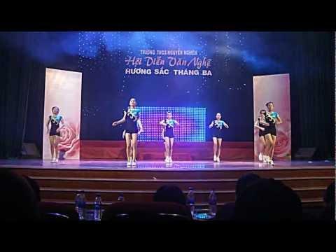 THCS Nguyễn Nghiêm 11-12 [Aerobics]
