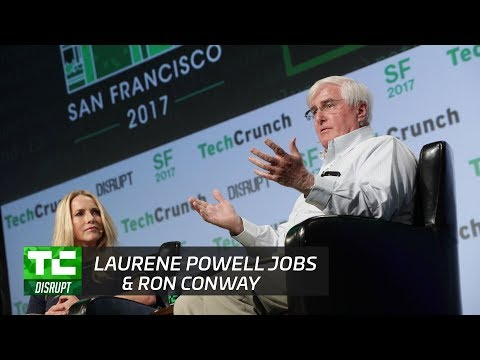Laurene Powell Jobs and Ron Conway: Help Our Fellow Americans | Disrupt SF 2017