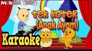 Tek Kotek (Anak Ayam) Karaoke No Vocal - (Lagu anak Indonesia 13) MuHivma Music VideoS