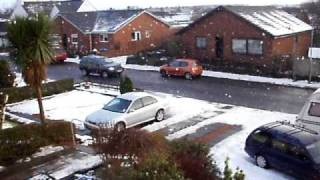 Snowy Day In Fife,scotland