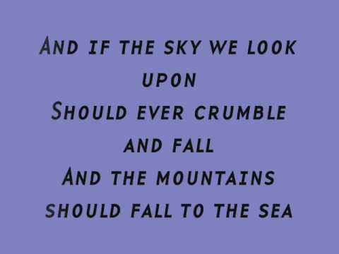 Stand By Me - Mickey Gilley (Lyrics)
