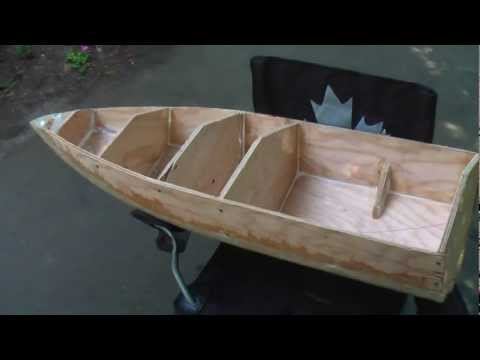 25cc RC Boat Project - Part 2 - Building the Hull