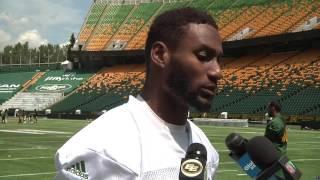 Post Practice: SB Adarius Bowman