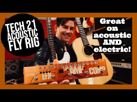 FX FOR CLEAN ELECTRIC, and ACOUSTIC! Tech21 ACOUSTIC FLYRIG