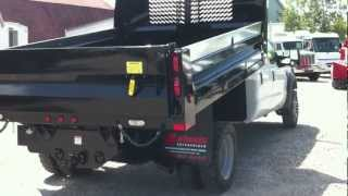 2008 Ford F-450 4x4 Crew Cab Dump Truck For Sale