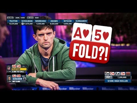 DON'T DO THIS at a WSOP Final Table ($100,000 High Roller)