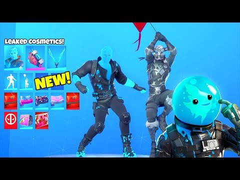 *NEW* Skins & Emotes LEAKED..! (SLURP JONESY, KITE EMOTE, Slurp Skins) Fortnite Battle Royale