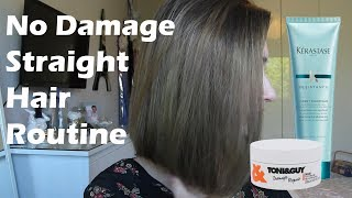 How To Straighten Your Hair Without Damaging It