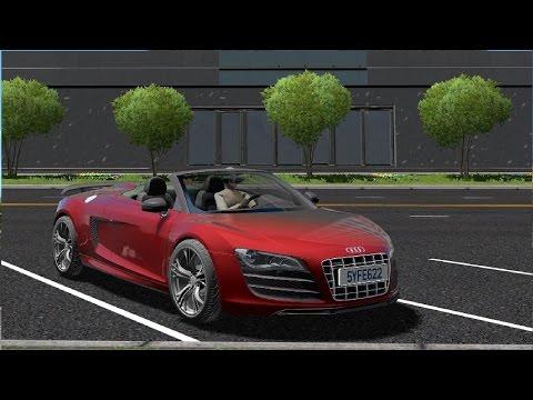 Audi R8 Spyder V10 Prueba de manejo!   City Car Driving