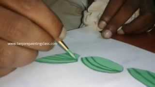 Tanjore paintings   Tutorial   DIY crafts   Procedure   Lesson 2 - Paint the traced tanjore painting