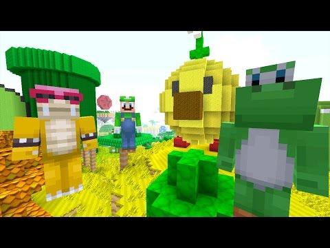 Minecraft Wii U - Super Mario Series - WHO'S THE COOLEST? [74]