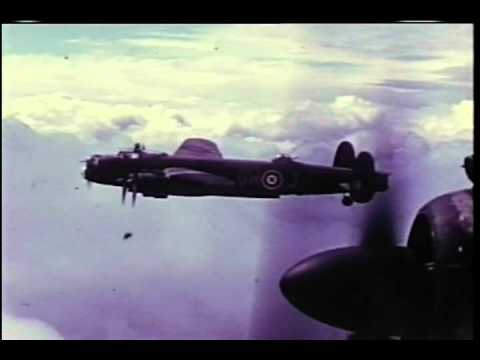 Avro Lancaster Bomber - Rare WWII Colour Film of the Lancaster