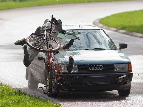 Велосипеды на дороге! Почему сбивают велосипедистов?