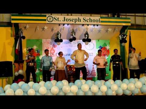 SJS Personnel Christmas Party 2012 Presentation: Chacharub