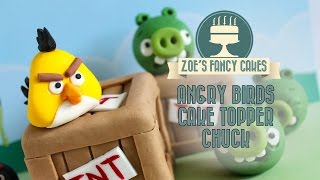 Video Angry birds cakes: Yellow angry bird Chuck cake topper fondant angry birds models download MP3, 3GP, MP4, WEBM, AVI, FLV Agustus 2018