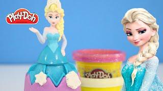 Play-Doh Disney Frozen Elsa Carimbinho de Massinha Princesas