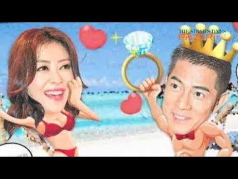 Did he or did he not propose? Aaron Kwok for Cold War Pt 1