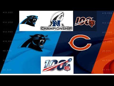 Madden 20 Franchise - Chicago Bears Episode 19 - NFC Championship Vs Carolina Panthers