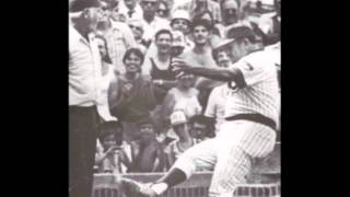 HERMAN FRANKS CLASSIC DIRT-KICKING RUN-IN WITH UMPIRE DOUG HARVEY