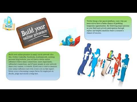 smart ways of social media to find a job
