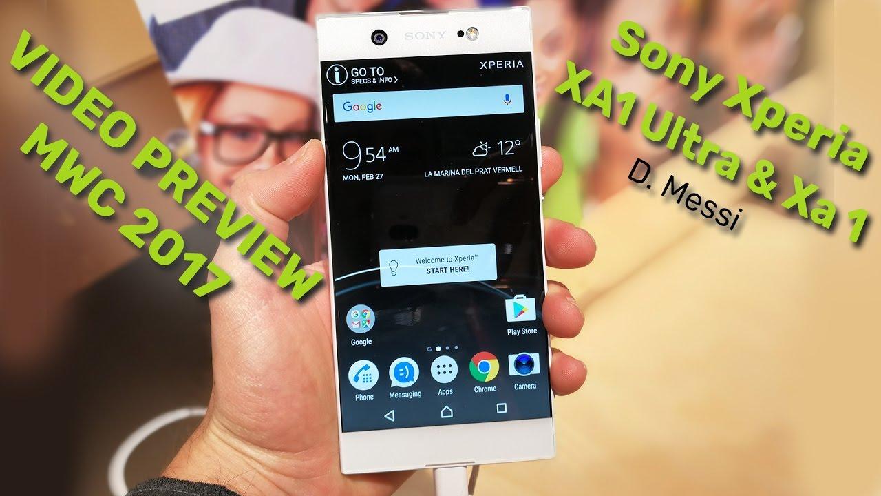 Sony xperia xa1 and xa1 ultra hands on android authority - Sony Xperia Xa1 Ultra Xa1 Preview Mwc17 Di Spazio Itech
