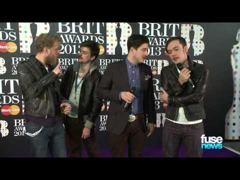 Mumford & Sons Steal BRIT Award @ BRIT Awards 2013