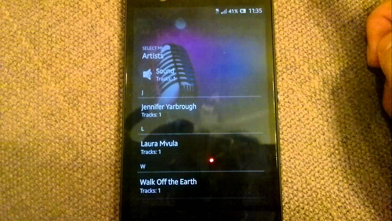 Customize Text Message Notification Tone on Sony Xperia Z