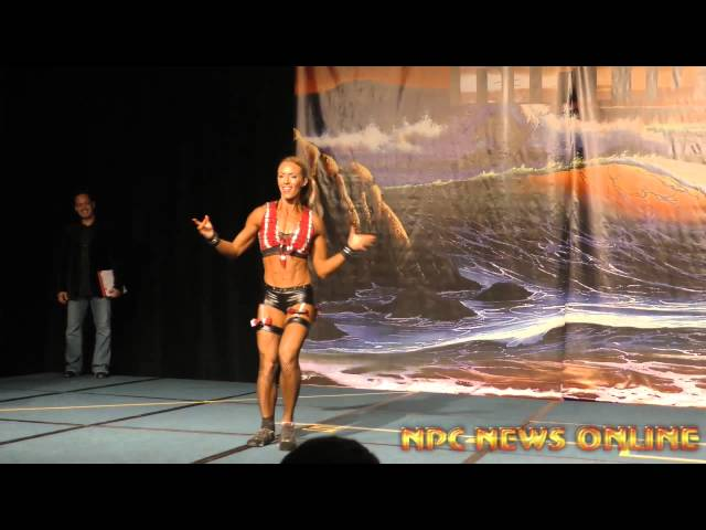 IFBB Fitness Pro Kristine Duba Guest Performance NPC Riptide Classic in Panama City