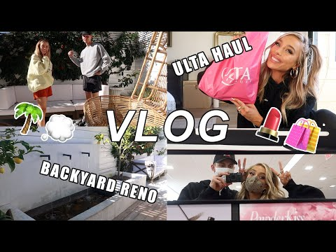 VLOG: Ulta Must Haves, Backyard Renovation Plans, Vegan Nachos