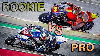 PRO RIDER VS ROOKIE RIDER - DIFFERENCES | Naska Vs Salvadori [English Subtitles]