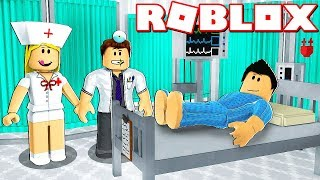 ¿LE SALVARÉ LA VIDA A UN SUSCRIPTOR EN ROBLOX? - Roblox Hospital Life