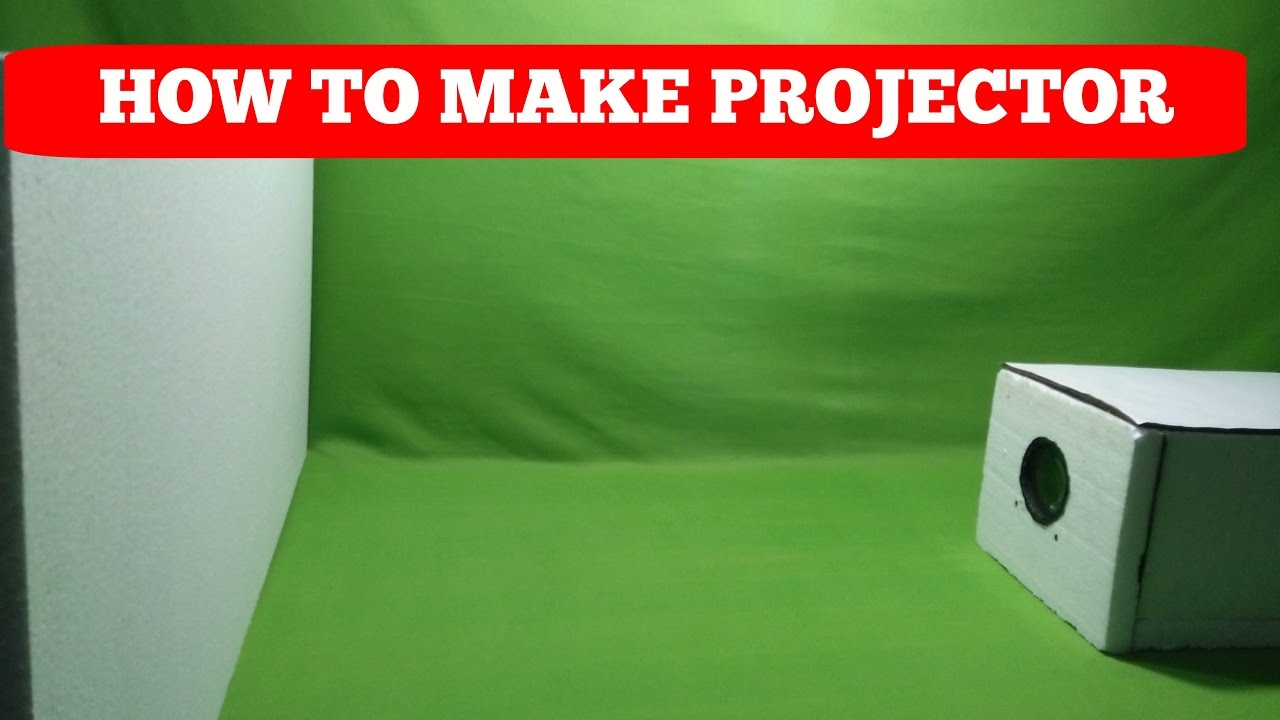 How to make a mobile phone projector at home youtube for How to make mobile projector