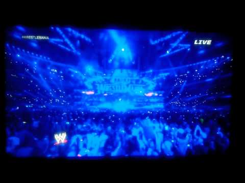 The Undertaker WM30 Entrance