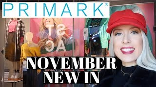 NOVEMBER NEW IN PRIMARK   COME SHOP WITH ME