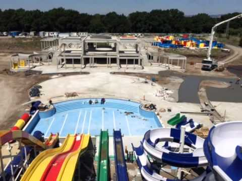 Sunset Resort Water Park Construction Updates 09 07 2015