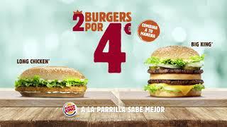 Burger King | 2 HAMBURGUESAS POR 4�...