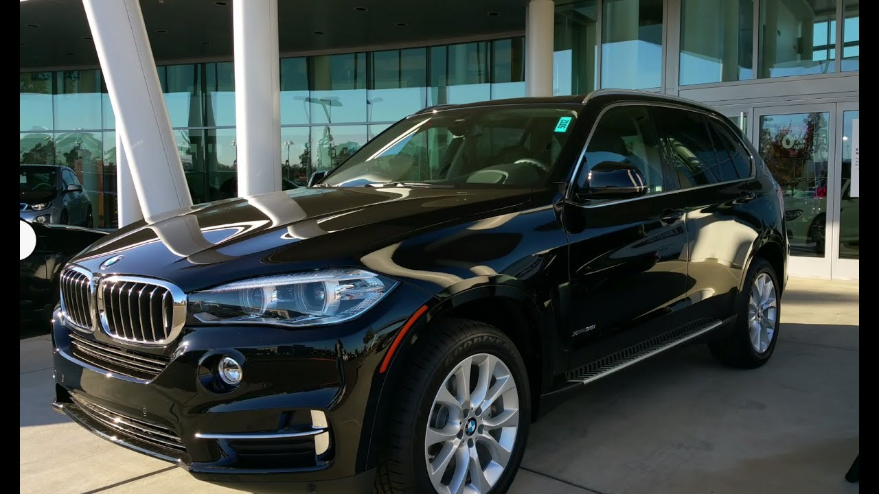 2015 BMW X5 xDrive 35i  Jet Black on Black Review  YouTube