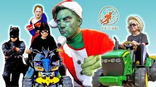 Little Heroes Super Episode - The Christmas Grinch, The Fire Engine and The Rescue Squad Heroes