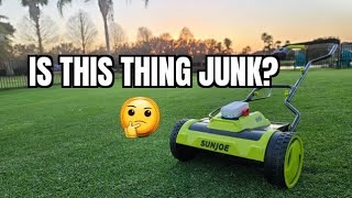 The best way t๐ get into reel mowing? Sun Joe 24V-CRLM15 24-Volt iON+ Cordless Reel Mower review