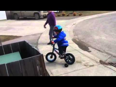 Jakob Riding A Bike Arthrogryposis