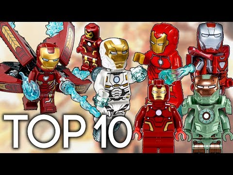 Top 10 Lego Iron Man Suits Ever Made