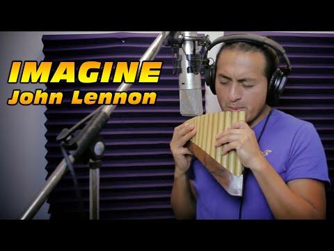 John Lennon - Imagine - PanFlute - Cesar from Ecuador