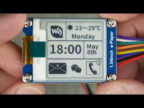 Rockin' out with a Waveshare e-Paper display